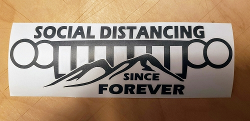 Social Distance Decal WK option 1