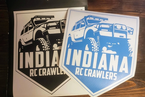 IN RC Crawlers Decal